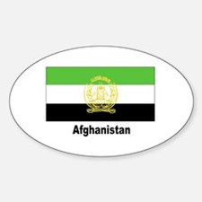 Afghanistan Flag Oval Decal