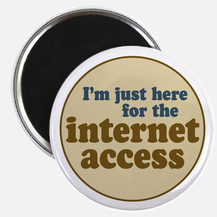 Internet Access Magnet