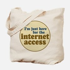 Internet Access Tote Bag