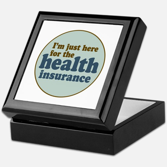 Health Insurance Keepsake Box