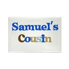 Samuel's Cousin Rectangle Magnet
