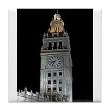 Chicago Tribune Tile Coaster