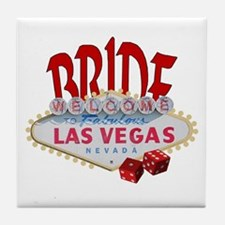 Casino Royale BRIDE Tile Coaster
