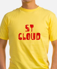 St Cloud Faded (Red) T