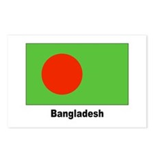 Bangladesh Flag Postcards (Package of 8)