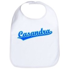 Retro Casandra (Blue) Bib