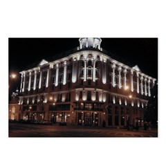 Warsaw At Night Postcards (Package of 8)