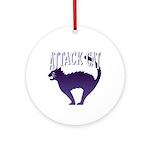 Attack Cat Keepsake (Round)