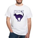 Attack Cat White T-Shirt