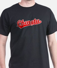 Retro Chengtu (Red) T-Shirt