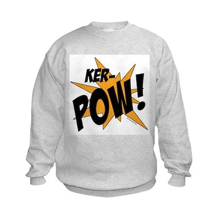 KER-POW! Kids Sweatshirt