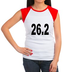 26.2 Marathon Women's Cap Sleeve T-Shirt
