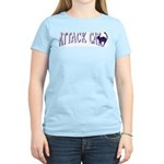 Attack Cat Women's Pink T-Shirt