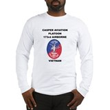 Casper aviation platoon Long Sleeve T-shirts