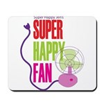 Super Happy Fan Mousepad