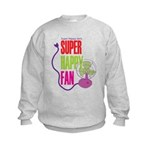 Super Happy Fan Kids Sweatshirt