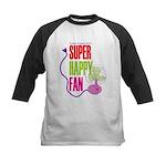 Super Happy Fan Kids Baseball Jersey