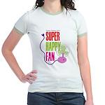 Super Happy Fan Jr. Ringer T-Shirt