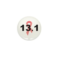 13.1 Half Marathon Mini Button (100 pack)