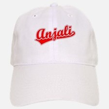 Retro Anjali (Red) Baseball Baseball Cap