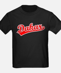 Retro Dakar (Red) T