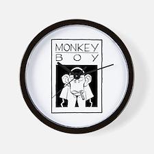Cute Monkeyboy Wall Clock