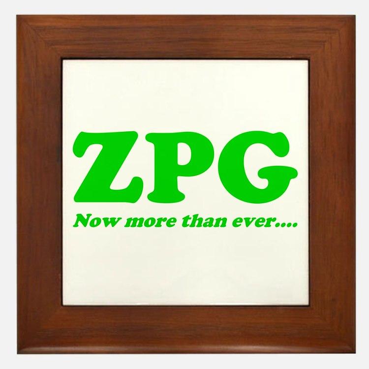 ZPG Framed Tile