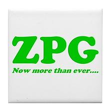 ZPG Tile Coaster
