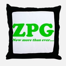 ZPG Throw Pillow