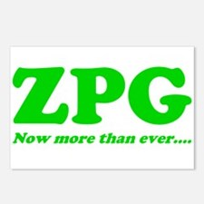 ZPG Postcards (Package of 8)