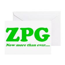 ZPG Greeting Cards (Pk of 20)