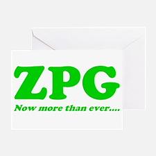 ZPG Greeting Card