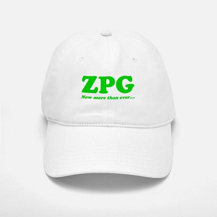 ZPG Baseball Baseball Cap