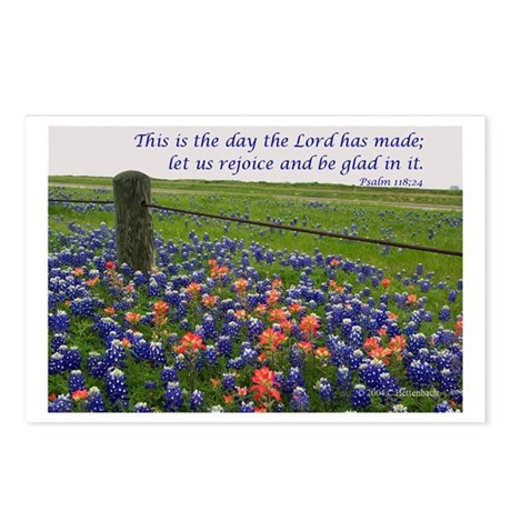 This is the day...Blue Bonnet Postcards (Package o