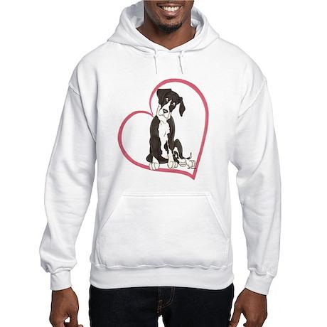 NMtl Heart Pup Hooded Sweatshirt