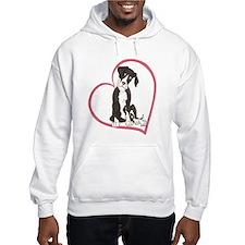 NMtl Heart Pup Hoodie