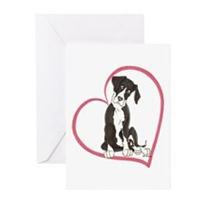 NMtl Heart Pup Greeting Cards (Pk of 10)
