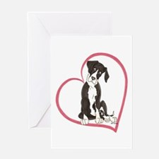 NMtl Heart Pup Greeting Card