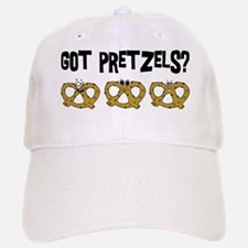 Got Pretzels Baseball Baseball Cap