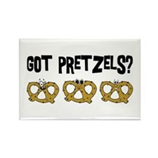 Got Pretzels Rectangle Magnet