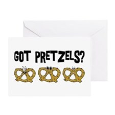 Got Pretzels Greeting Card