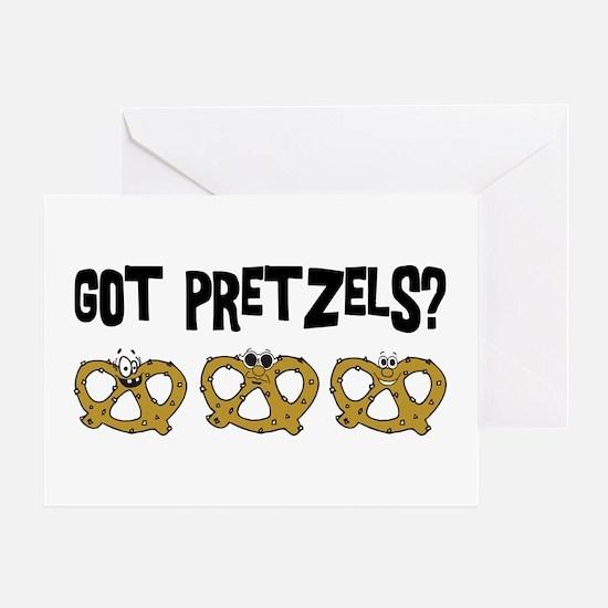Got Pretzels Greeting Card
