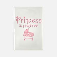 Princess In Progress Rectangle Magnet