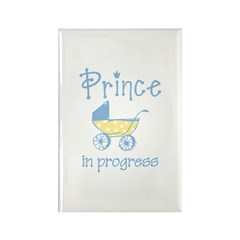 Prince In Progress Rectangle Magnet