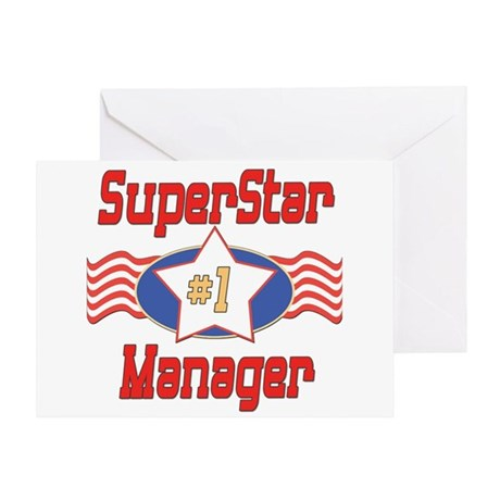 Superstar Manager Greeting Card