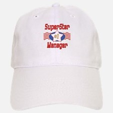 Superstar Manager Baseball Baseball Cap