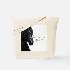 Maneating Pony Tote Bag