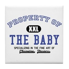 Property of the Baby Tile Coaster