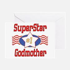 Superstar Godmother Greeting Card
