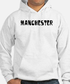 Manchester Faded (Black) Hoodie
